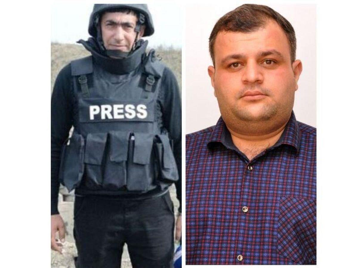 کشته شدن 2 خبرنگار جمهوری آذربایجان در قره باغ