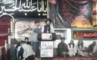 یکی از اعضای طالبان در مراسم عزاداری امام حسین «ع» شرکت کرد