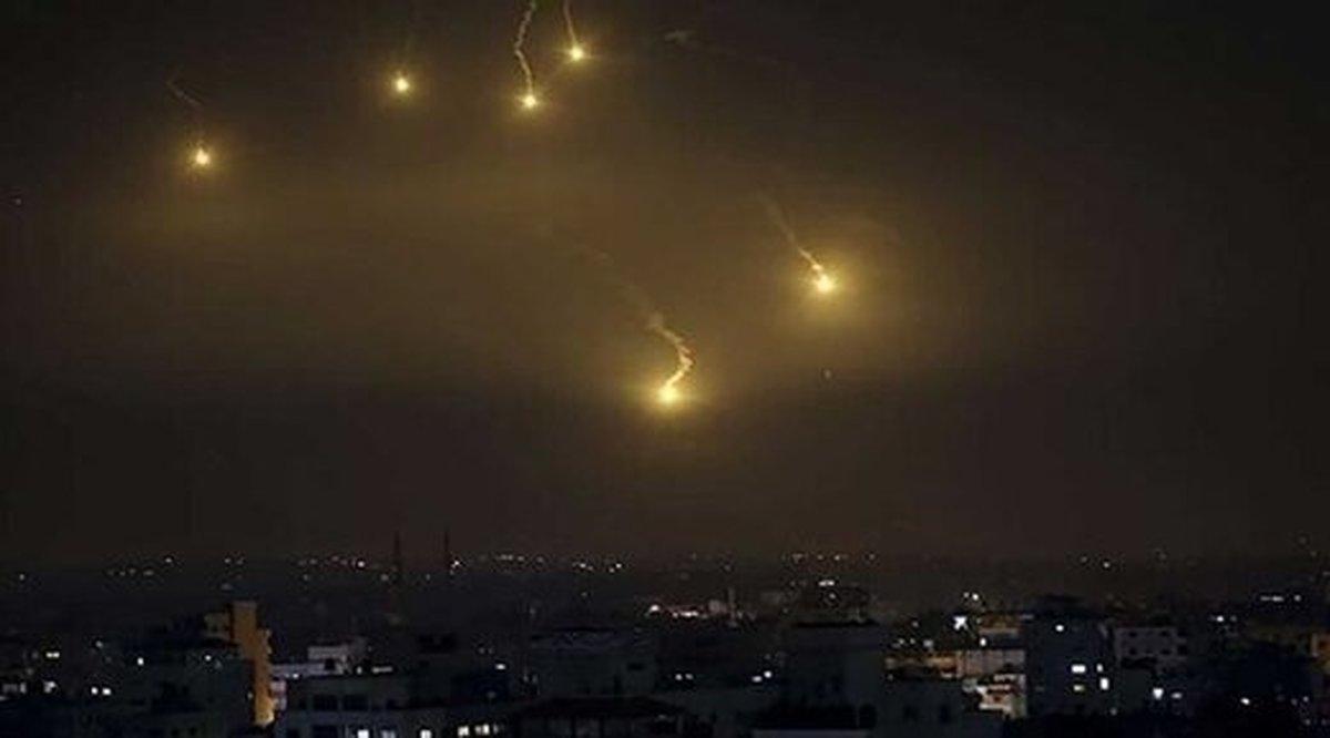 ناکامی حملات هوایی اسرائیل در مقابل پدافند سوریه