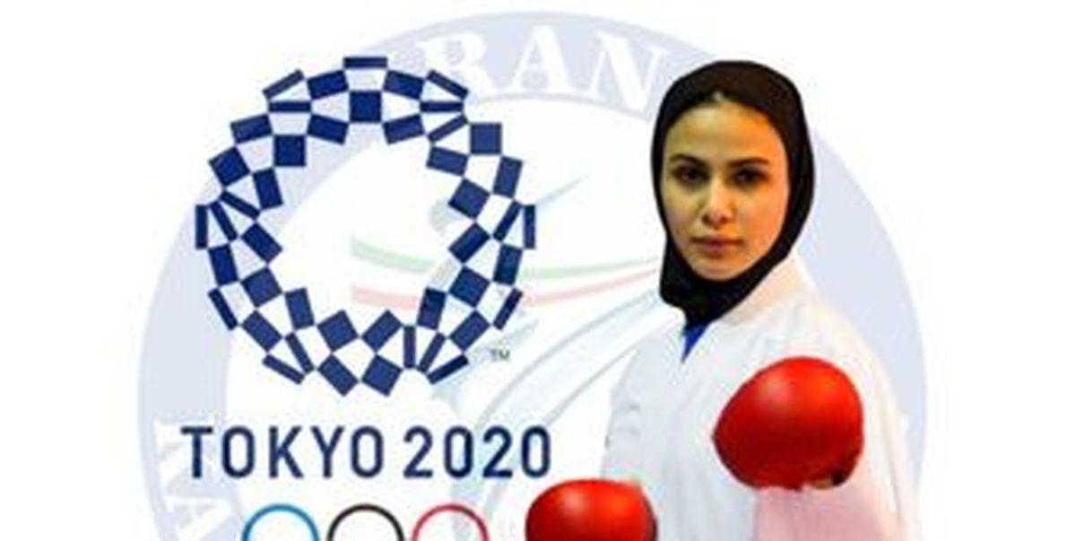 جواز حضور در المپیک توکیو برای سارا بهمنیار