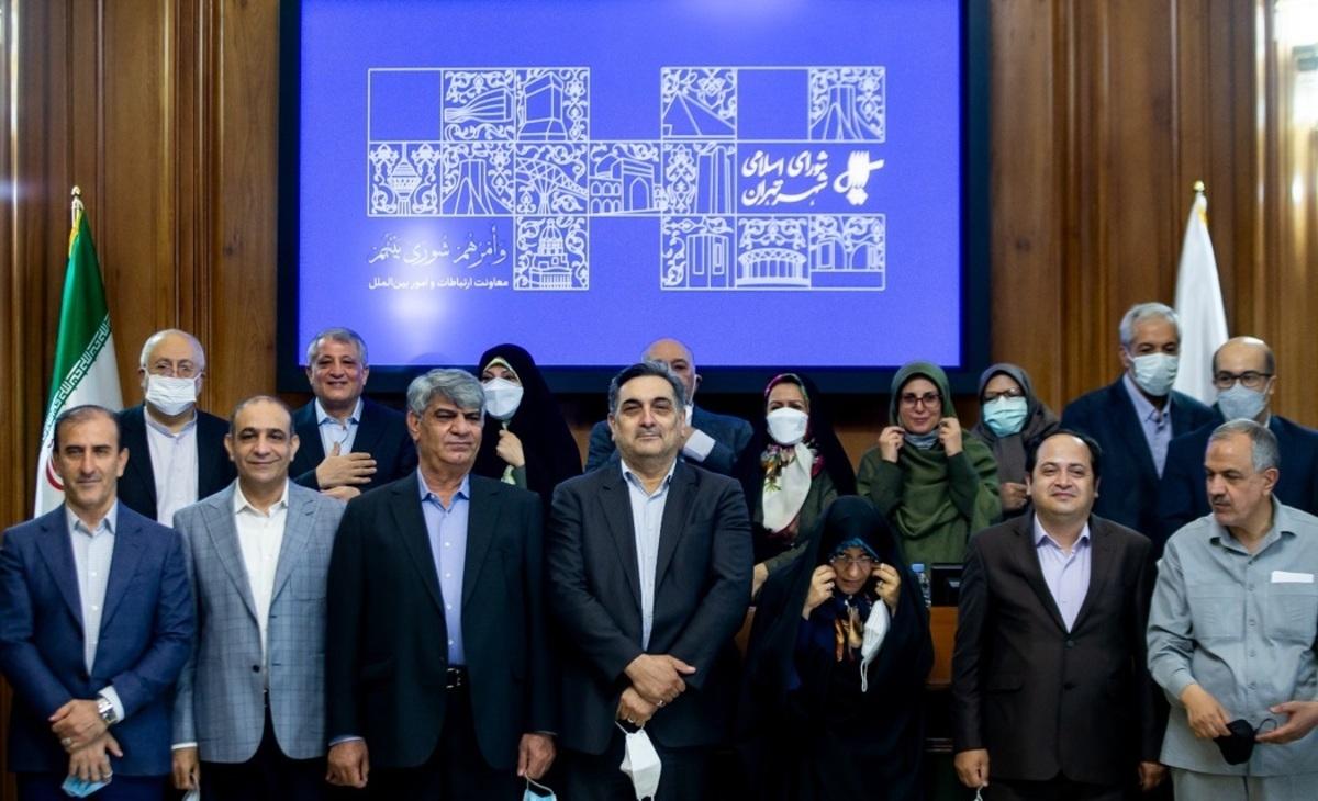 آخرین جلسه شورای پنجم شهر تهران+تصاویر