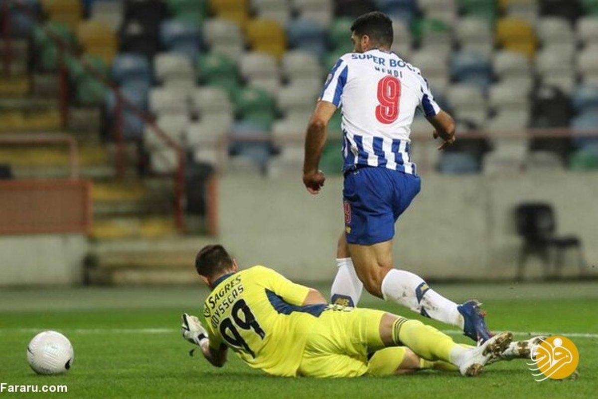 لقب جدید برای مهدی طارمی در فوتبال پرتغال +عکس