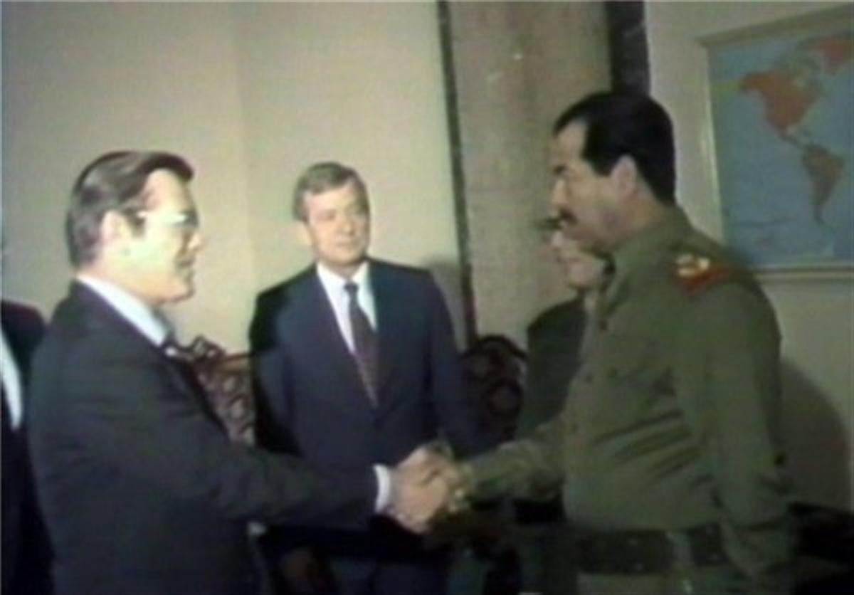 گفتههای رامسفلد در کتاب خاطرات      حذف صدام حسین از عراق