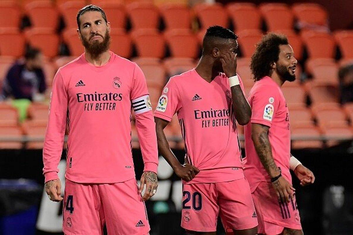 رئال مادرید برابر والنسیا تحقیر شد