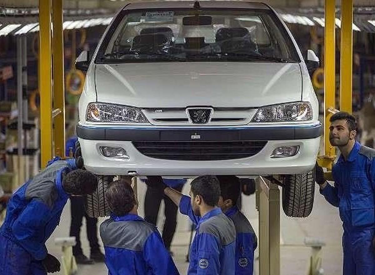 قیمت محصولات ایران خودرو در۷ اردیبهشت ۱۴۰۰ |  کاهش نرخ پژو پارس و ۲۰۶