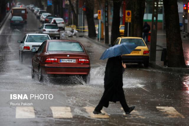 هشدار هواشناسی: شدت بارشها در ۶ استان «پرخطر» است