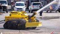 لس آنجلس | رباتهای آتش نشان استخدام میشوند