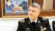 شناور «پوتین» در اختیار فرمانده نیروی دریایی ارتش قرار گرفت
