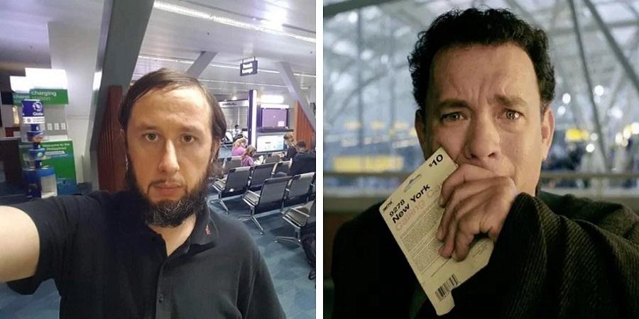 ۱۰۰ زندگی روزه در فرودگاه؛  گردشگر استونیایی در فرودگاه مانیلا گیر افتاد