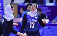 ملیپوش والیبال زنان ایران به لیگ پرتغال پیوست