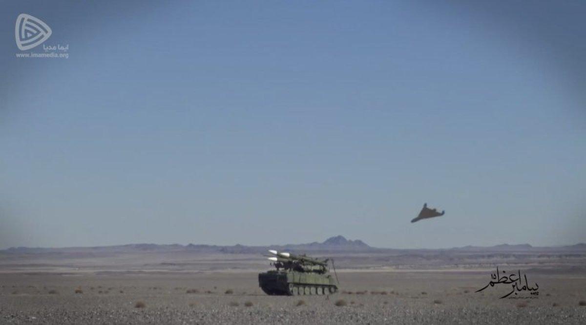 ادعای آسوشیتدپرس      پهپادهای رزمایش سپاه مشابه پهپادهایی است که تاسیسات نفتی عربستان حمله کردند