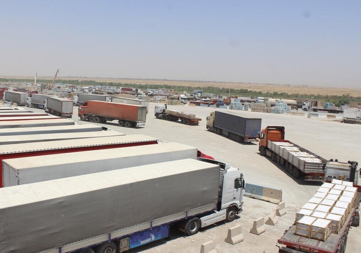 صادرات کالا به افغانستان از پایانه دوغارون ۲۶۰ درصد افزایش یافته
