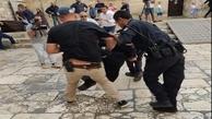 اشغالگران به صدها فلسطینی مسیحی حمله کردند