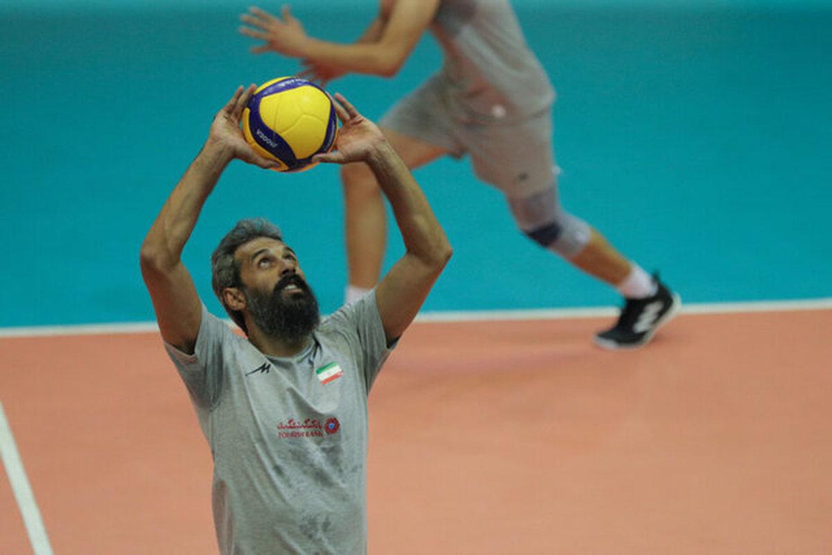 تیم ملی والیبال به ترکیب اصلی رسید شریفی انتخاب نهایی آلکنو برای المپیک