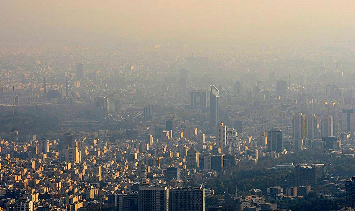 آلودگی هوا  |   هواشناسی  هشدار داد