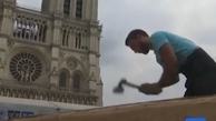 بازسازی بام چوبی کلیسای نوتردام با فنون قرون وسطایی+ ویدئو