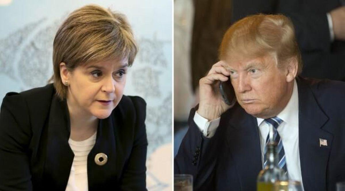 روز تحلیف بایدن و دست رد اسکاتلند به سینه ترامپ
