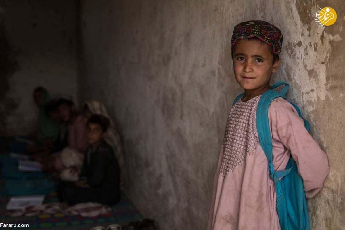 کودکان جنگزده در افغانستان