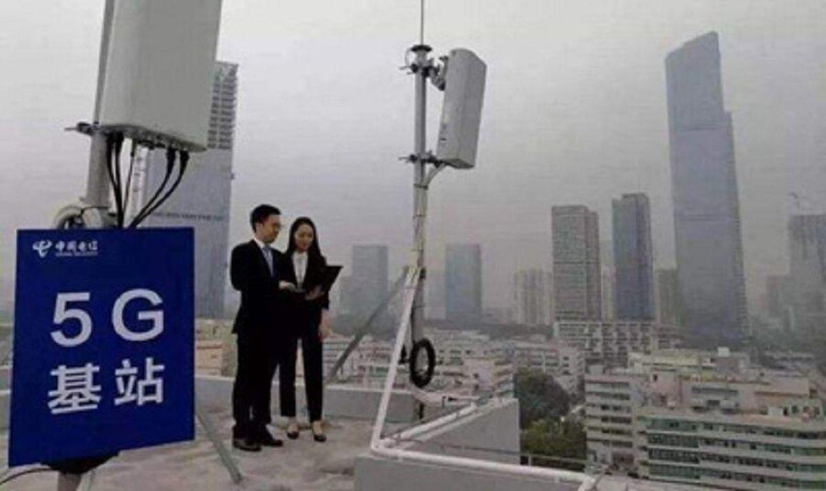 راه اندازی ۱۱۳ هزار ایستگاه ۵G در چین