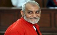 صدور حکم حبس ابد برای رهبر اخوان المسلمین مصر