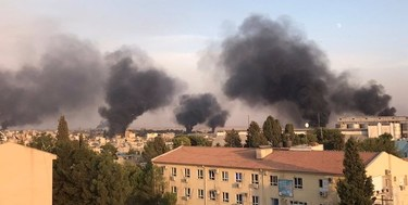 شبهنظامیان کُرد سوریه: ارتش ترکیه شهر کوبانی را بمباران کرد